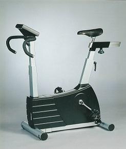 grijze fietsergometer voor medische toepassing