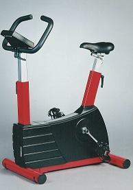 rode fietsergometer voor medische toepassing