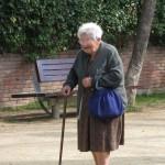 Dwalende Alzheimer patiënt